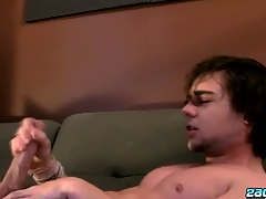 Stroking One Broadly With A Fleshlight - Zack Randall