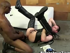 Amateur bdsm ebony cums