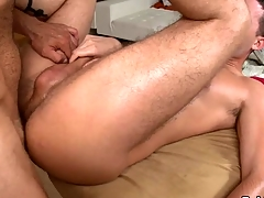 Hunk gets earthy anal drilling at near palpate