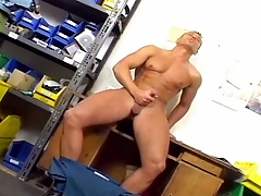 Muscle and cum #04