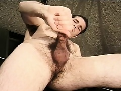 Hot mechanic fingers his ass with an increment of jacks off his big learn of in the matter of the garage