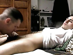 Seduced straight guys evanescent learn of sucked